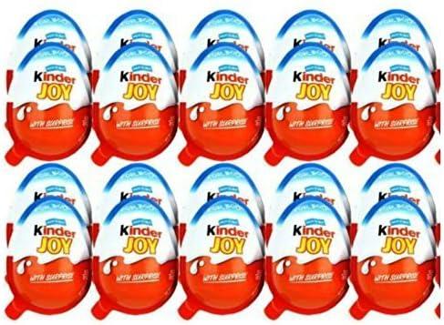 Kinder Joy, 48er Pack (48 x 20 g): : Lebensmittel