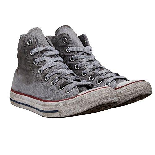 Chuck All Converse Tela Grigio Op Taylor In Ltd Alte Adulto Sneakers Unisex Smoke White Canvas High Star EUBBqpx