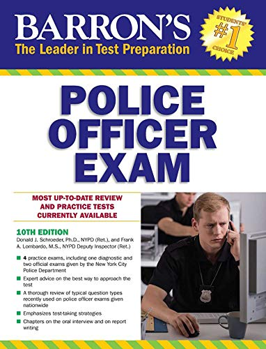 Barron's Police Officer Exam
