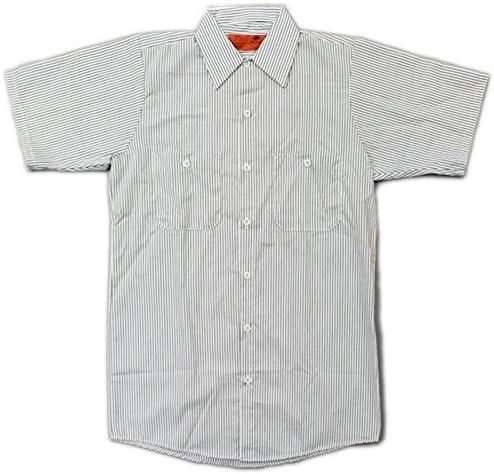 /SHORT SLEEVE STRIPE WORK SHIRTS(半袖ストライプワークシャツ)