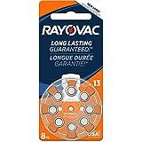 Rayovac Mercury Free Hearing Aid Batteries, Size 13, 8-Pack (L13ZA-8ZM)
