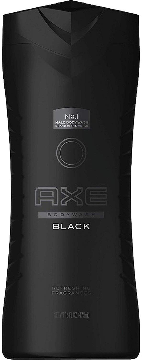 Axe Body Wash, Black 16 oz (Pack of 2)