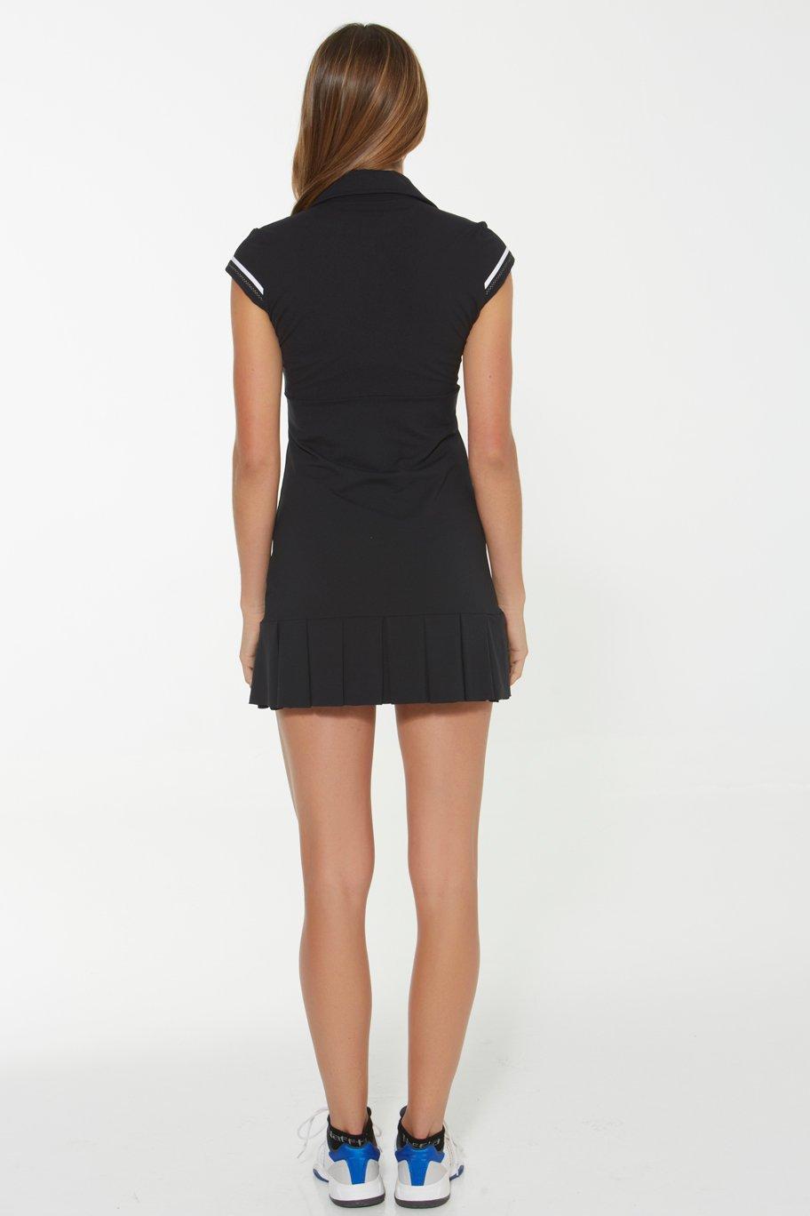 Naffta Tenis Padel - Vestido para Mujer, Color Negro/Blanco, Talla M: Amazon.es: Deportes y aire libre