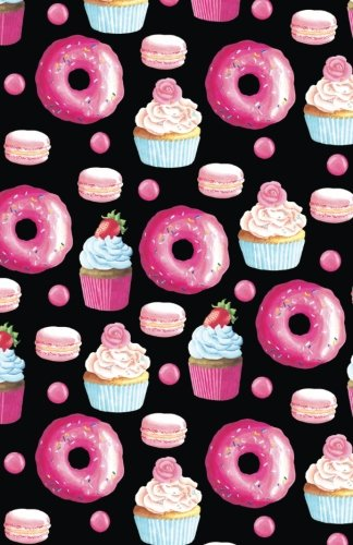 Bullet Journal Doughnuts, Cupcakes and Macarons Pattern: Graph Design - 162 Numbered Pages With 150 Graph Style Grid Pages, 6 Index Pages and 2 Key ... 5.5 X 8.5 Size (Graph Journal) (Volume 27) (Cupcake Journal)
