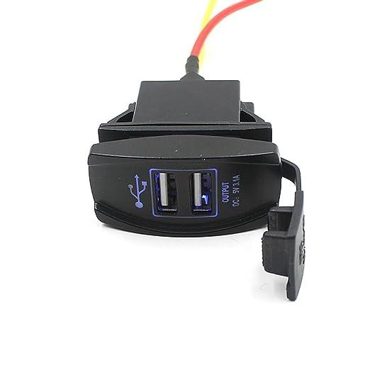 9 opinioni per Sannysis® 12V 24V del crogiolo di automobile Auto accessori Dual USB Charger