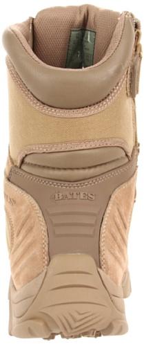 Bates Hombres Gx-8 Comp. Bota De Trabajo Con Cremallera Lateral Para El Pie Desierto / Tostado