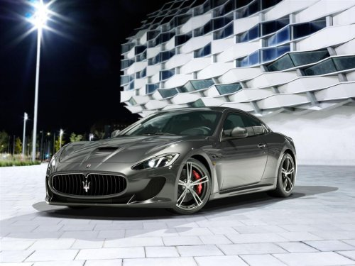 maserati-granturismo-mc-stradale-2014-car-art-poster-print-on-10-mil-archival-gray-front-side-view-3