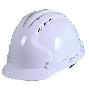 Casco de seguridad ABS Fábrica respirable Fábrica Construcción Anti-destrozo Decoración Capuchones protectores Cabeza de electricista Protección profesional ...