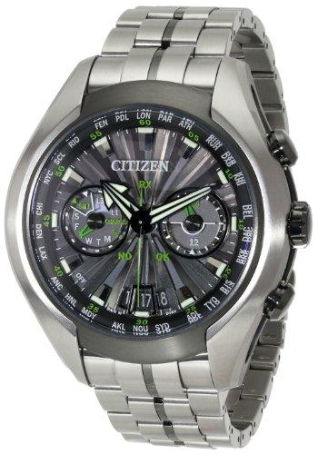 - Citizen Men's CC1055-53E Satellite Wave Air Titanium Eco-Drive Watch
