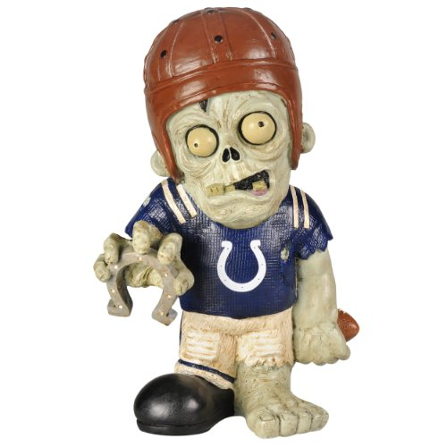 NFL Indianapolis Colts Resin Thematic Zombie Figurine