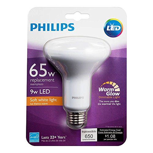 philips led br30 warm glow dimmable 650 lumen 2700 2200 import it all. Black Bedroom Furniture Sets. Home Design Ideas