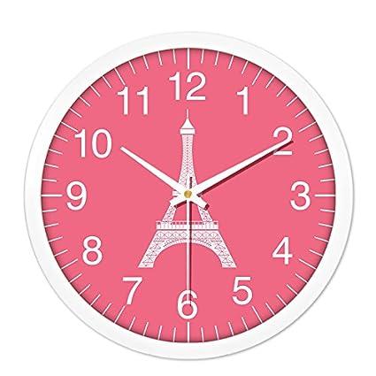 Amazon.com: BABYQUEEN WALL CLOCK 10 inch minimalist modern classic ...