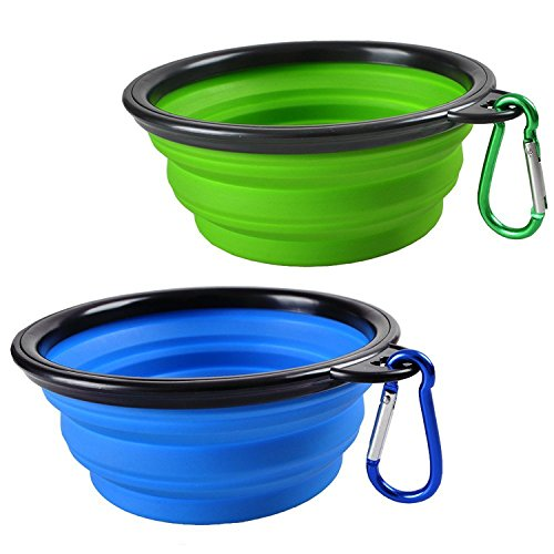 Water and Food Feeder For Dog and Cat (Green) - 8