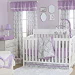 Grey-Damask-and-Purple-3-Piece-Baby-Crib-Bedding-Set-by-The-Peanut-Shell