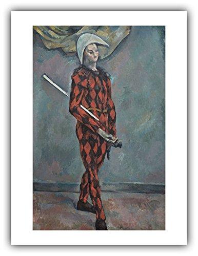 The Ibis Print Gallery - Paul Cezanne : ''Harlequin'' (1888-1890) - Giclee Fine Art ()