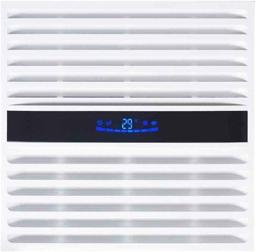 XZJJZ Aseo Techo inversor de la CC de ventilación Ventilador WC Extintor silencioso 30 × 30 Baño Extractor (Size : 260m/3)