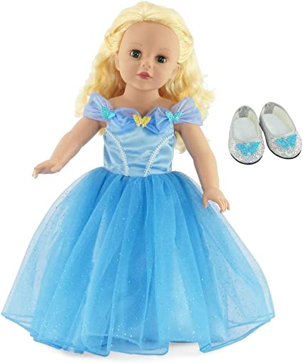 Colorful Car Blue Pajamas Suit Sleepwear Fit For 18/'/'American Girl Doll Clothes