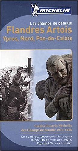 Les champs de bataille Flandres Artois Michelin epub, pdf