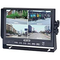 Crimestopper Sv-8900.Qm.Ii 7 Color Lcd Monitor With Built-In Quad View