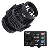 Uniclife 3400 GPH Controllable Wavemaker with W-40 Controller and Magnet Mount for Marine Freshwater Aquarium Circulation Pond