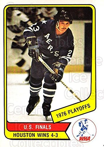 (CI) Houston Aeros Hockey Card 1976-77 O-Pee-Chee WHA 131 Houston Aeros