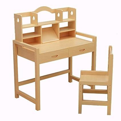 Amazon.com: Tables ZR-Wall Study Desk, Lifting Solid Wood ...