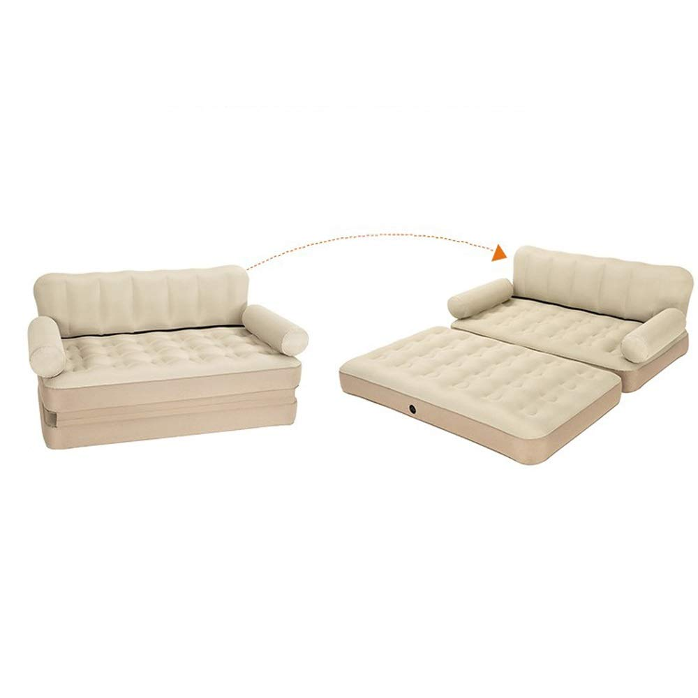 Amazon.com : DDSS Air Bed- Sofá cama inflable sofá perezoso ...