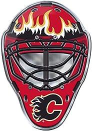 NHL Calgary Flames Mask Emblem Aluminum