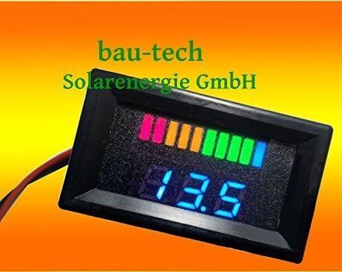 12V Battery indicator bau-tech Solarenergie