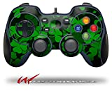 St Patricks Clover Confetti - Decal Style Skin fits Logitech F310 Gamepad Controller (CONTROLLER SOLD SEPARATELY)