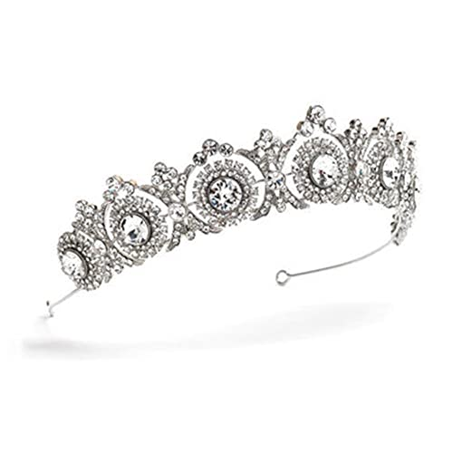 Sanfe Tiaras y Coronas Wedding Hair Accessories Tiara Bridal Crown Tiaras  de Boda para Novias Adornos para el Cabello  Amazon.es  Joyería 29c314f59158