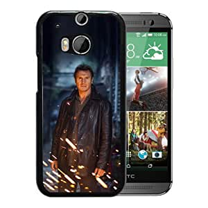 Unique Designed Cover Case For HTC ONE M8 With He Taken Niam Neeson Actor Celebrity Phone Case