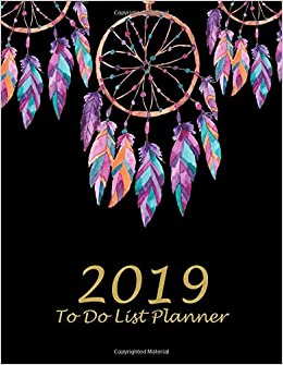 amazon 2019 to do list planner beauty black book 2019 weekly