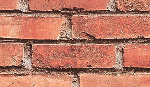 Fablon FAB10222 Brick Wall Adhesive Film
