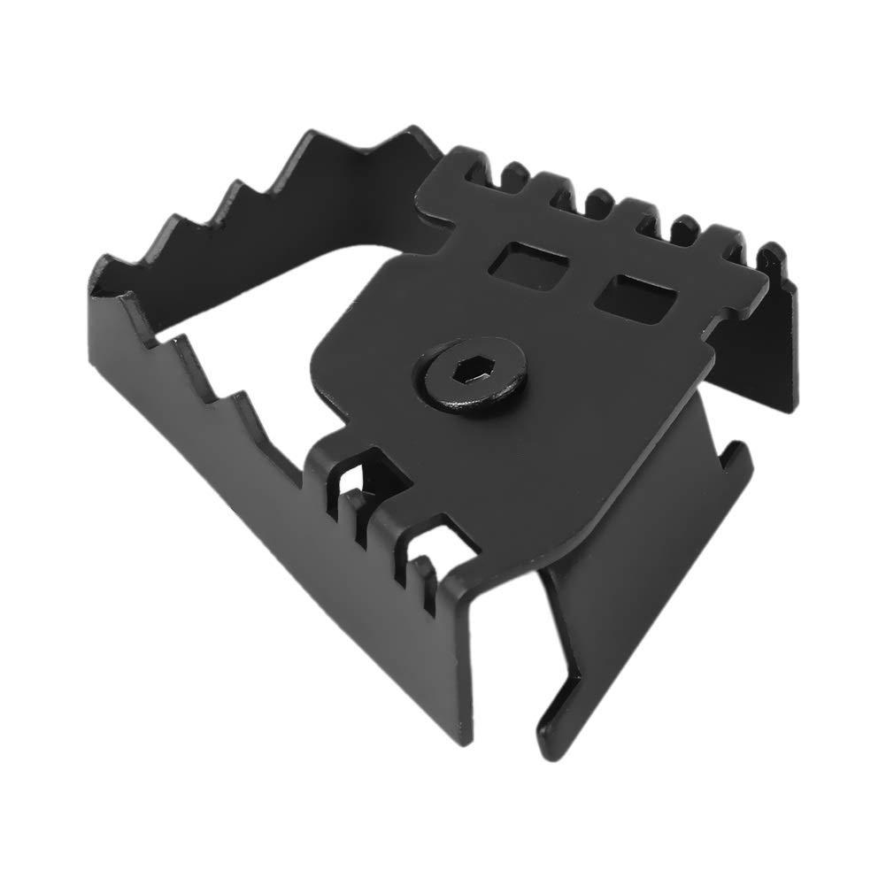 Extension de la p/édale de frein-Pied arri/ère de la p/édale de frein Agrandir Extension du prolongateur de rallonge pour BMW F800GS F700GS R1150GS R1200GS Couleur : Argent