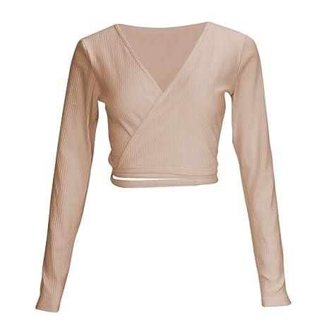 Mujer y Niña otoño fashion fiesta,Sonnena ❤ Blusa de manga larga con cuello