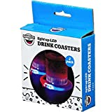 BiG MOUTH inc. LED Light-Up Drink Coasters (2-PACK)
