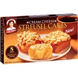 Little Debbie Cream Cheese Streusel Cakes 13 Oz (6 Boxes)