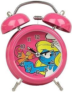 Puppy Classic Vintage Alarm Clock KMB The Smurfs, Smurfette (2010)