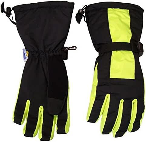 N'Ice Caps Kids Extreme Cold Weather Premier Extended Cuff Ski Snowboard Glove