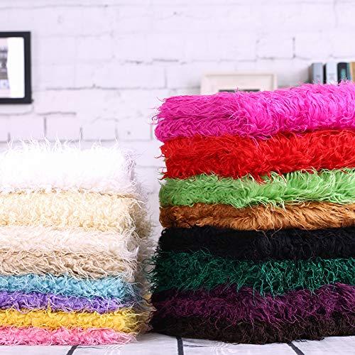 Fur strip fabric