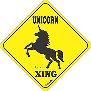 Unicorn Crossing - Large All Weather Sign