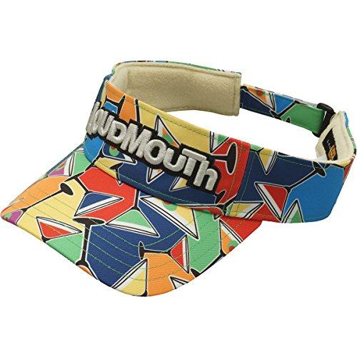 ラウドマウスゴルフ Loud Mouth Golf 帽子 サンバイザー コックテイルパーティ 059 フリー