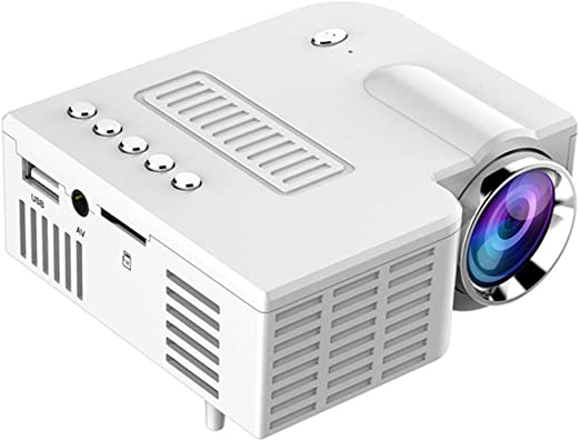 Afittel0 Mini Proyector, Micro Teléfono Móvil Vídeo Proyector ...