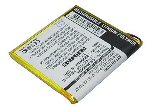 Cameron Sino 2500mAh Battery Compatible with Archos AV605 WiFi 605 GPS 4GB AV605 WiFi 30G and Others AV605 80GB AV605 WiFi 605 GPS 30GB AV605 120GB 7//pcs Toolskits Included