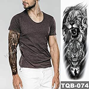 Elefante Brace Manga Tatuaje Guerrero León Impermeable Etiqueta ...