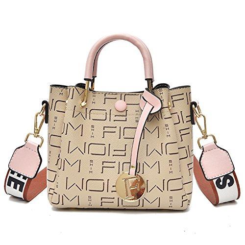 Inclinado de Bolsillo Bolsos Pink Verano WXIN Moda Solo Moda Mujer Mini Mini Mini Hombro Bag 18gfTq