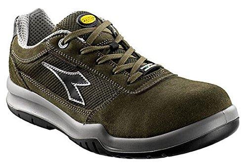 Vert Armée Comfort S1P Chaussures de Sécurité Taille 43