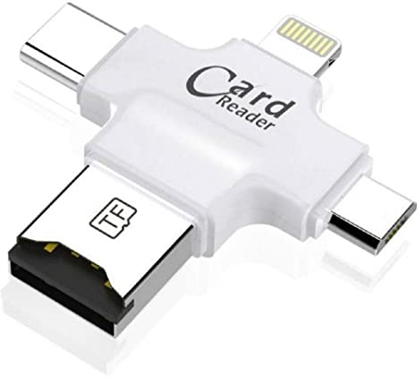 online store e2255 0977f AK Art OTG Card Reader for iPhone 7/7 Plus/iPhone 6S/6S Plus/5/5C/5S ...