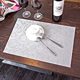 KathShop New Plastic Table Mat Coaster Waterproof Pad Practical Slip-Resist Placemat for Dining Table Kitchen Accessories Decoration Home